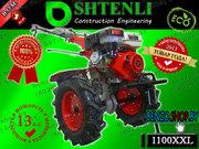 Мотоблок Shtenli 1100 XXL 13 л.с. c валом отбора мощности