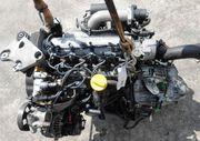 Продается по запчастям двигатель Renault Laguna II,  1.9dCi,  120 л.с.