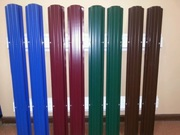 Металлический штакетник для забора от производителя в Рогачев